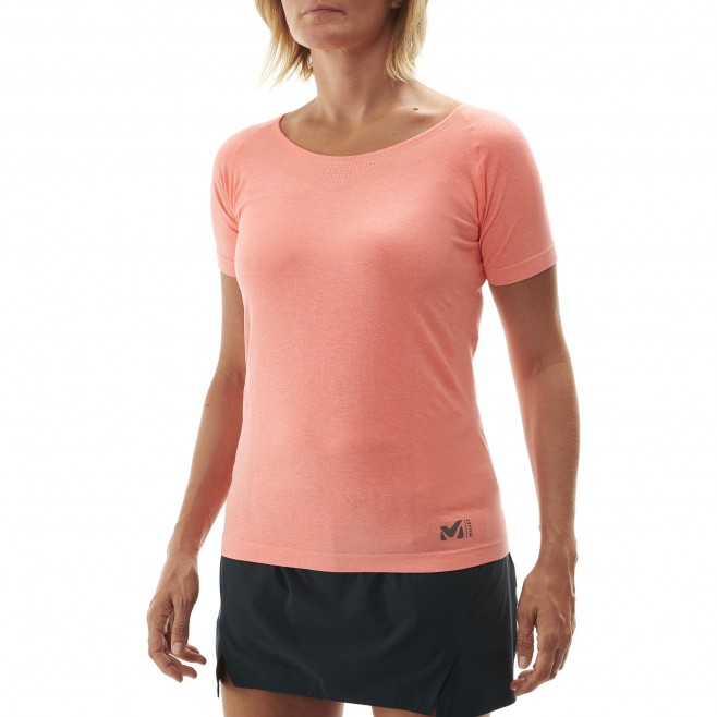 Women's tee-shirt - pink LTK SEAMLESS LIGHT TS SS W Millet 2