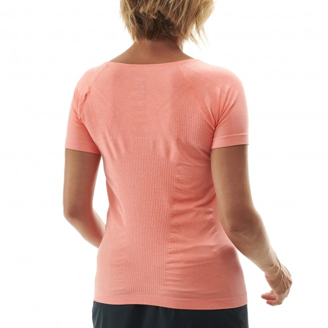 Women's tee-shirt - pink LTK SEAMLESS LIGHT TS SS W Millet 3