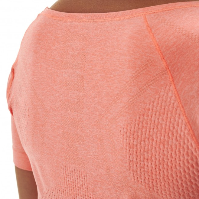 Women's tee-shirt - pink LTK SEAMLESS LIGHT TS SS W Millet 4