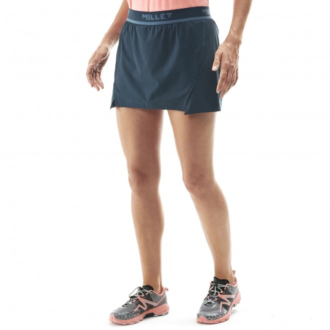 Women's skirt - trail running - navy-blue LD LTK INTENSE SKIRT Millet 2