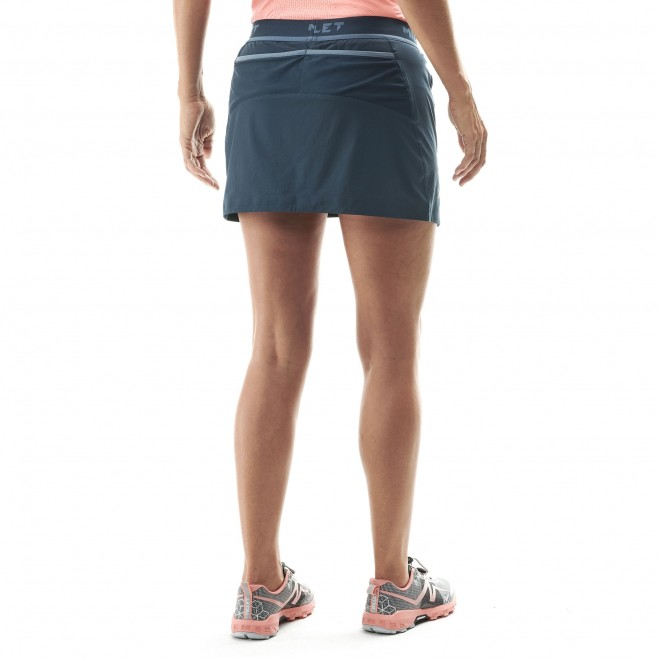 Women's skirt - trail running - navy-blue LD LTK INTENSE SKIRT Millet 3