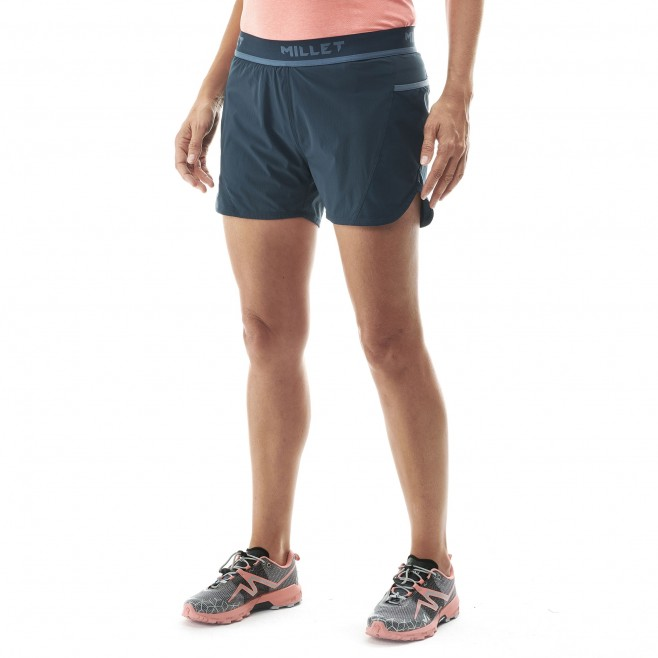 Women's short - trail running - navy-blue LD LTK INTENSE SHORT Millet 2
