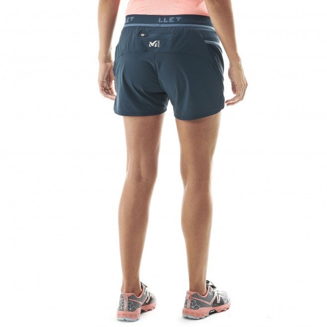 Women's short - trail running - navy-blue LD LTK INTENSE SHORT Millet 3