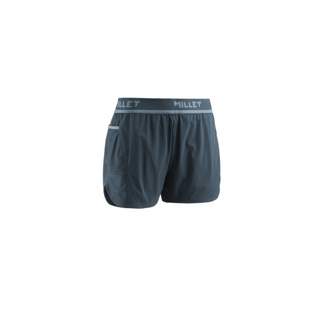 Women's short - trail running - navy-blue LD LTK INTENSE SHORT Millet