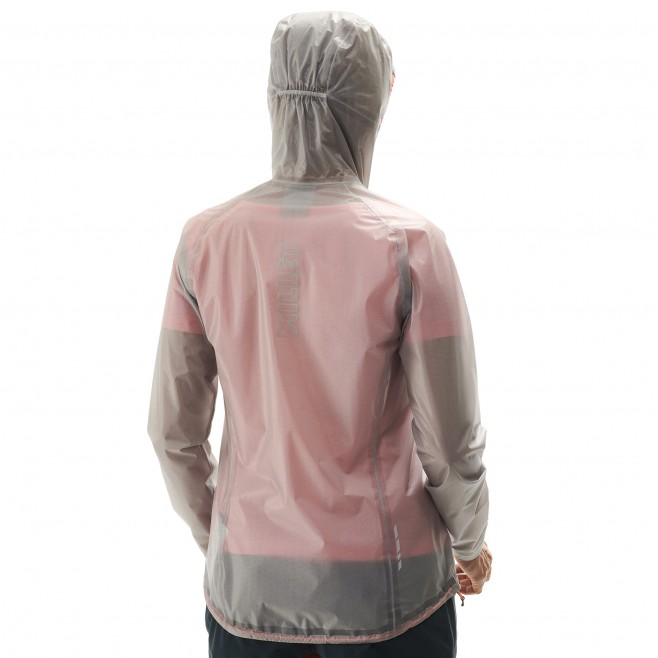 Women's waterproof jacket - grey LTK ULTRA LIGHT JKT W Millet 5