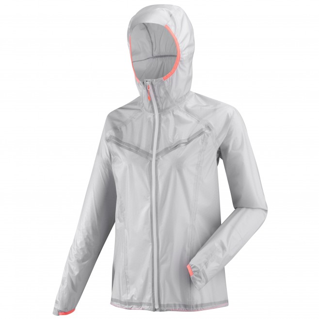 Women's waterproof jacket - grey LTK ULTRA LIGHT JKT W Millet