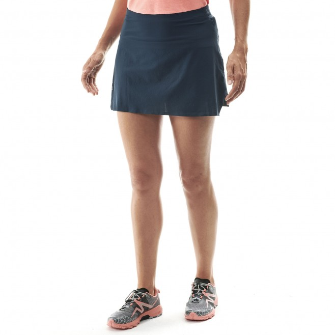 Women's skirt - trail running - navy-blue LD LTK ULTRA LIGHT SKIRT Millet 2