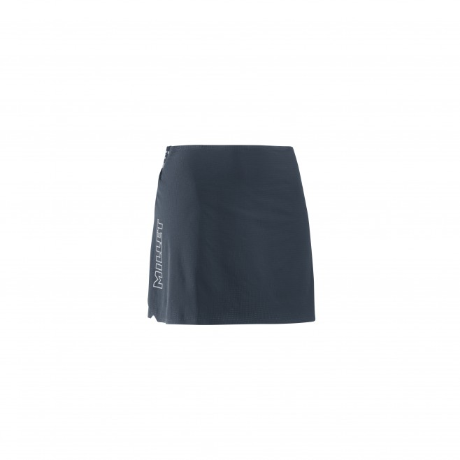 Women's skirt - trail running - navy-blue LD LTK ULTRA LIGHT SKIRT Millet