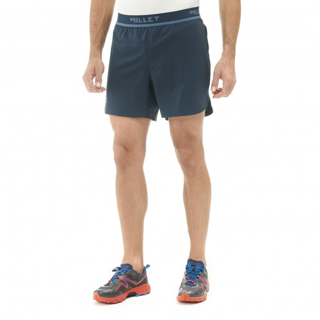 Men's short - trail running - navy-blue LTK INTENSE SHORT Millet 2