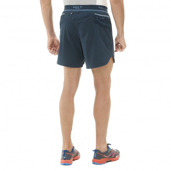 Men's short - trail running - navy-blue LTK INTENSE SHORT Millet 3