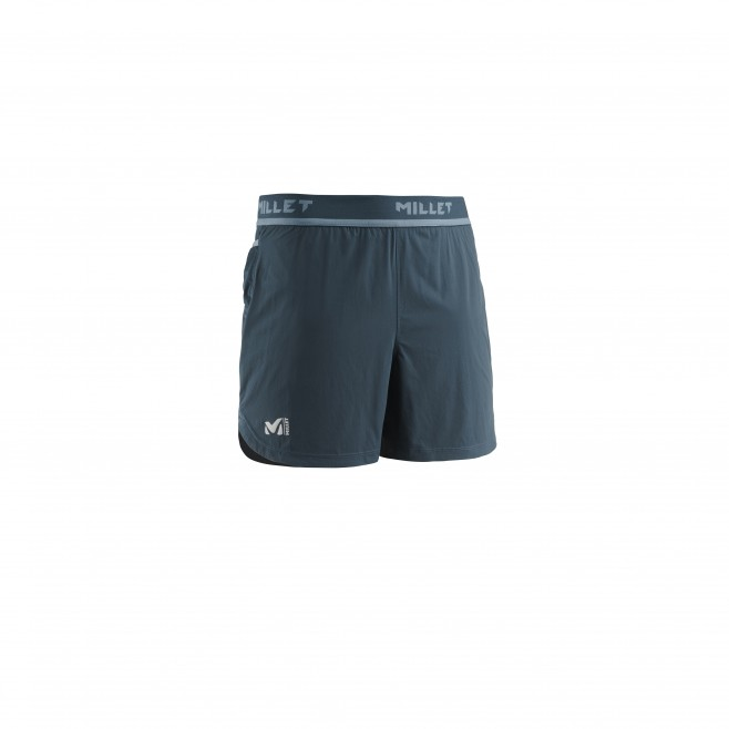Men's short - trail running - navy-blue LTK INTENSE SHORT Millet