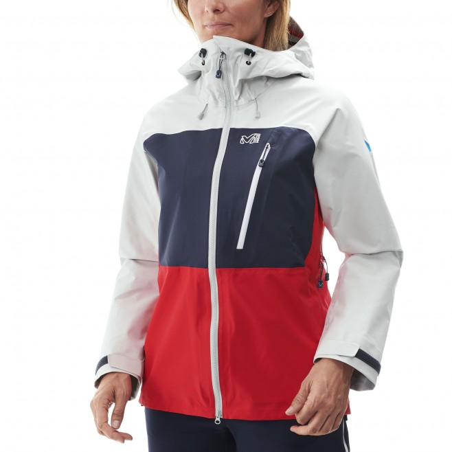 Women's gore-tex jacket - mountaineering - red LD TRILOGY ULTIMATE GTX JKT Millet 3