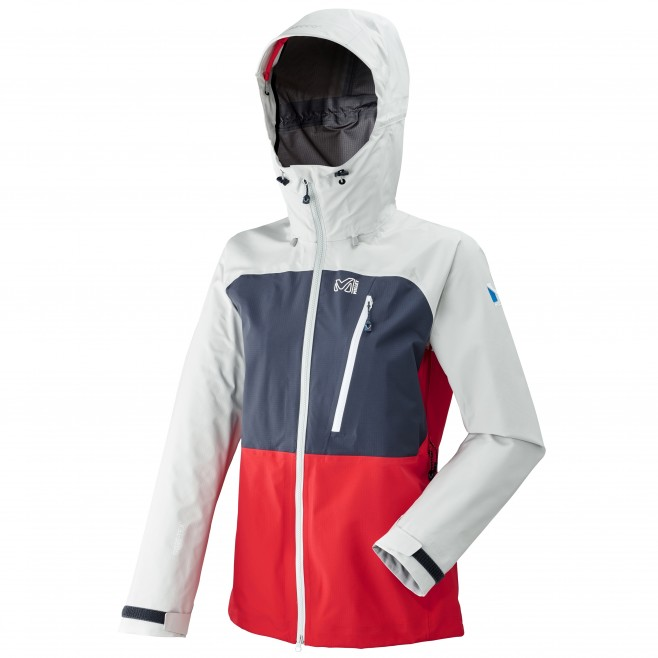 Women's gore-tex jacket - mountaineering - red LD TRILOGY ULTIMATE GTX JKT Millet