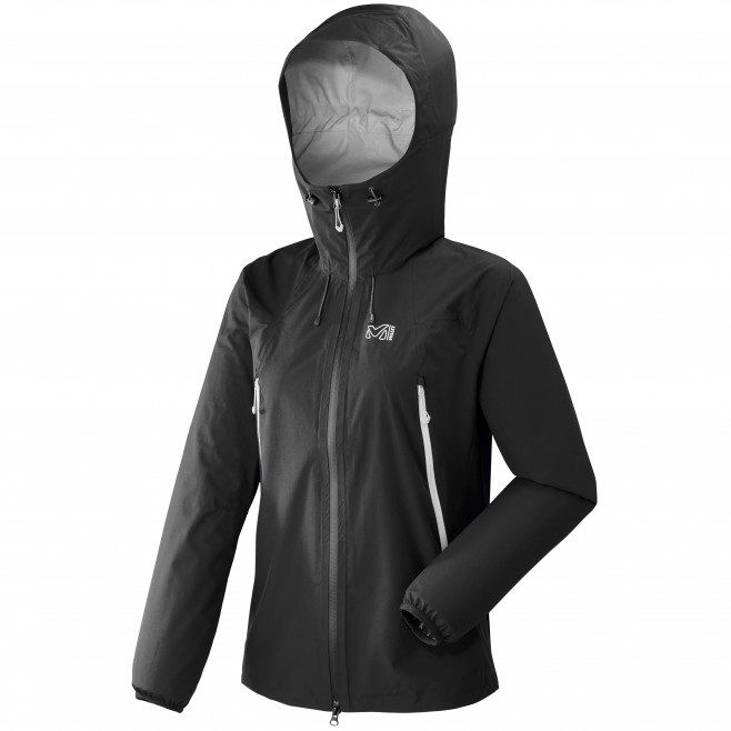 Women's waterproof jacket - mountaineering - black LD K ABSOLUTE 2,5L JKT Millet