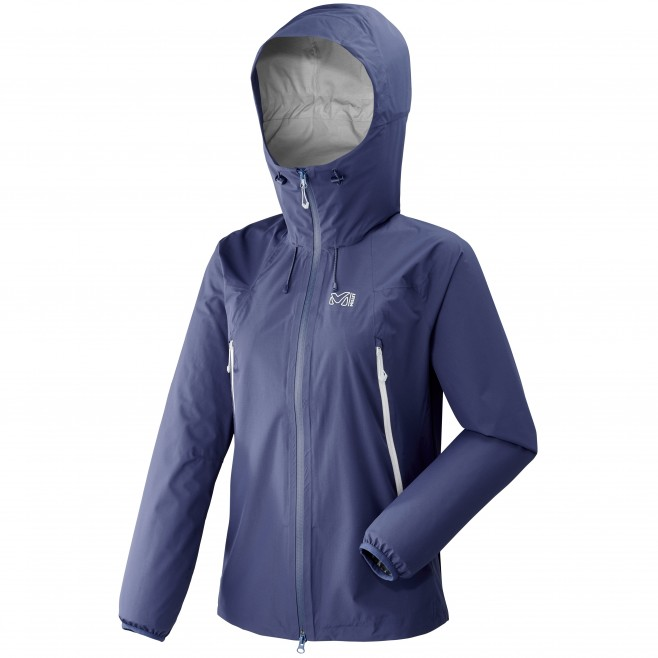 Women's waterproof jacket - mountaineering - blue LD K ABSOLUTE 2,5L JKT Millet