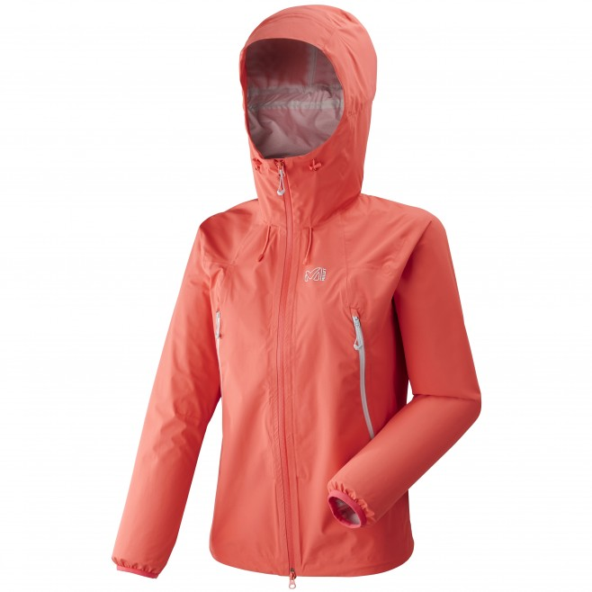 Women's waterproof jacket - mountaineering - pink LD K ABSOLUTE 2,5L JKT Millet