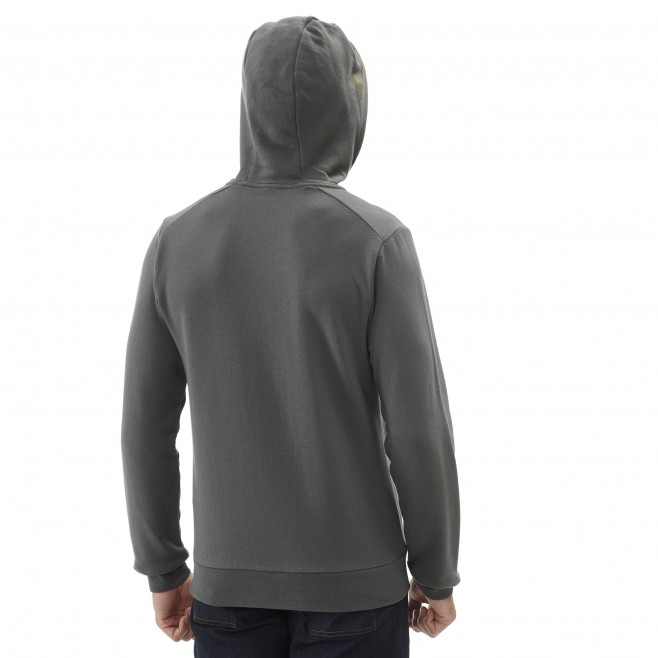Men's sweat - black MILLET SWEAT ZIP HOODIE M Millet 3