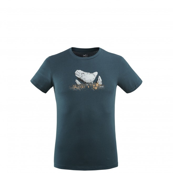 Men's tee-shirt - navy-blue BOULDER DREAM TS SS M Millet