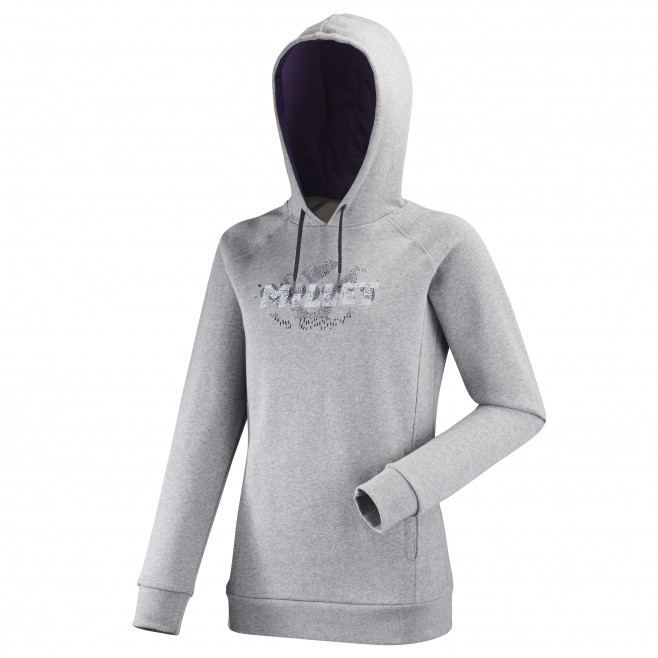 Women's urban look sweatshirt - grey LD LUHTI SWEAT HOODIE Millet
