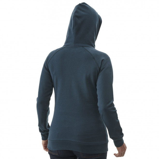 Women's urban look sweatshirt - grey LD LUHTI SWEAT HOODIE Millet 3