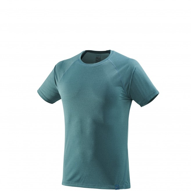 Men's short sleeves t-shirt - hiking - green ISEO TS SS Millet