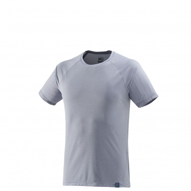 Men's short sleeves t-shirt - hiking - blue ISEO TS SS Millet