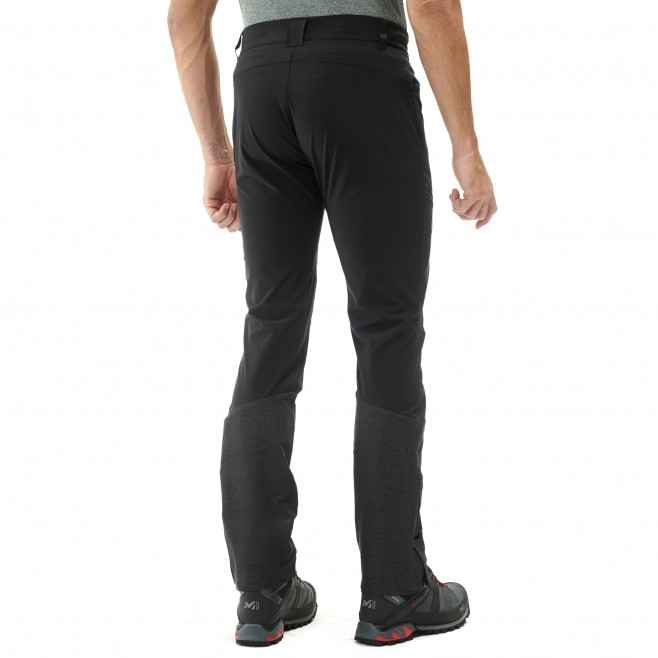 Men's pant - black KIVU STRETCH PANT M Millet 3