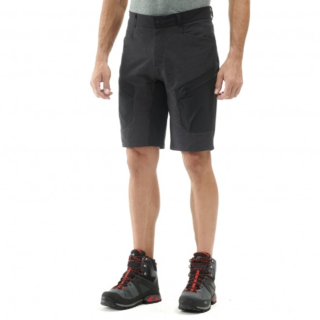 Men's short - black KIVU STRETCH BERMUDA M Millet 2