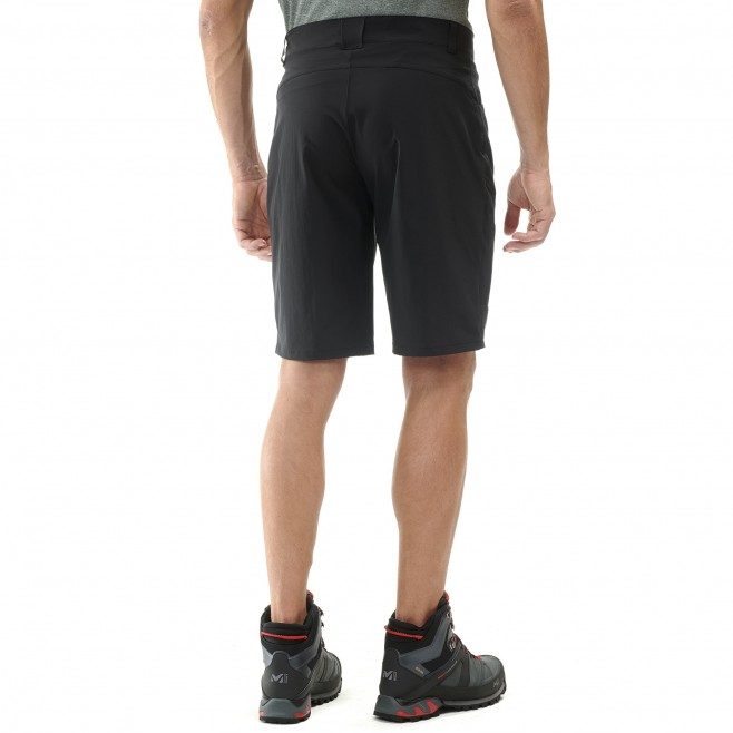 Men's short - black KIVU STRETCH BERMUDA M Millet 3