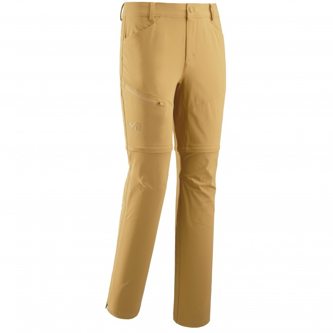Men's zip-off pant - hiking - yellow TREKKER STRETCH ZIP OFF PANT II Millet