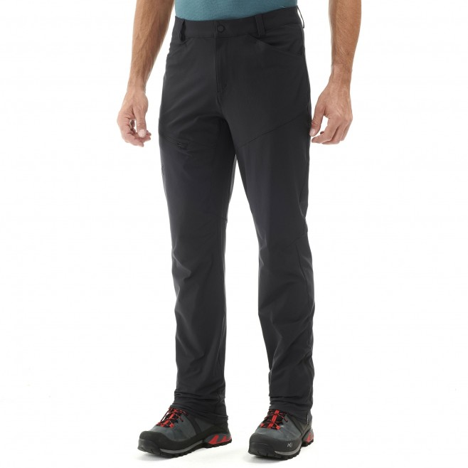 Men's pant - hiking - black TREKKER STRETCH PANT II Millet 3