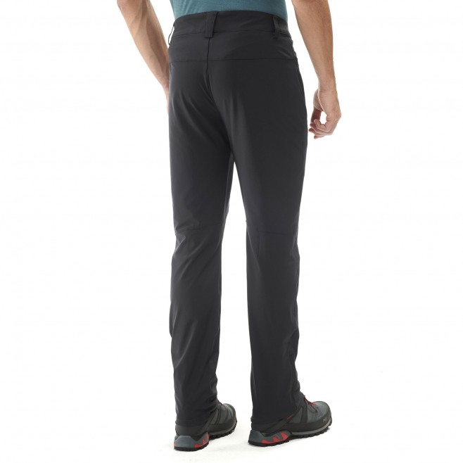 Men's pant - hiking - black TREKKER STRETCH PANT II Millet 4