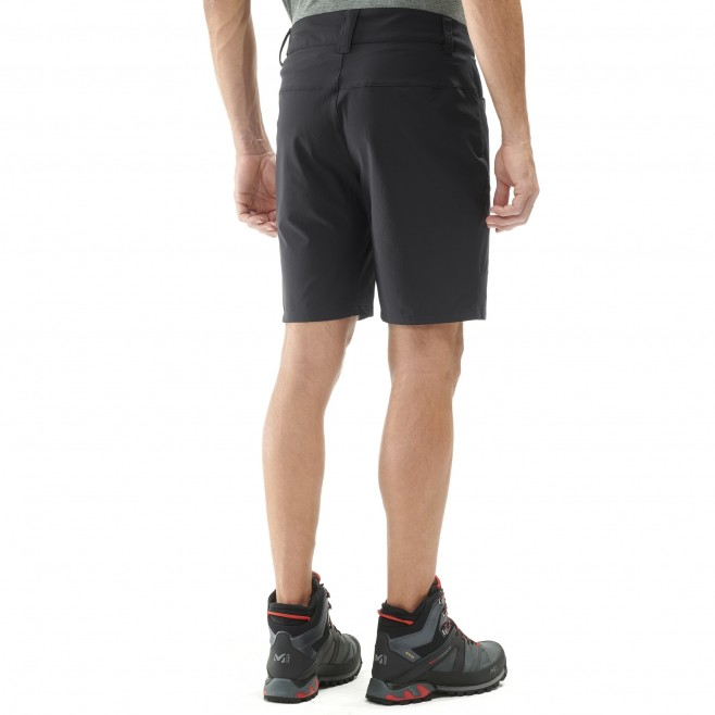 Men's short - hiking - blue TREKKER STRETCH SHORT II Millet 3