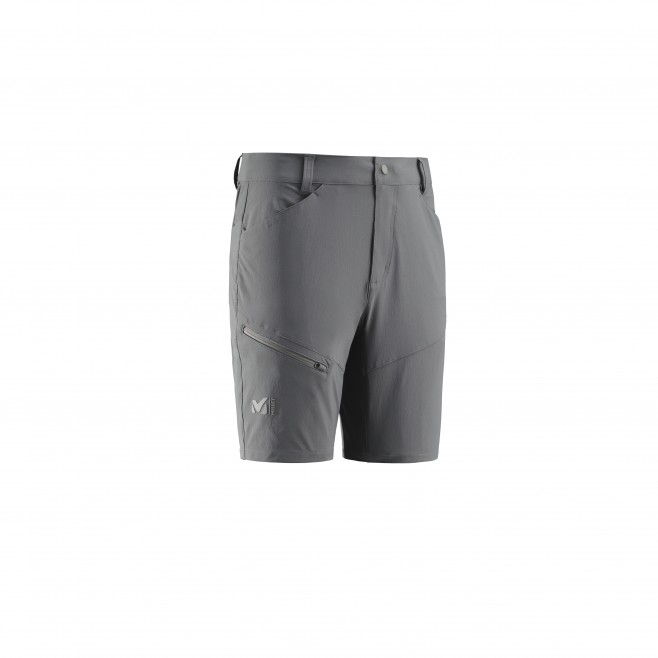 Men's short - grey TREKKER STRETCH SHORT II M Millet