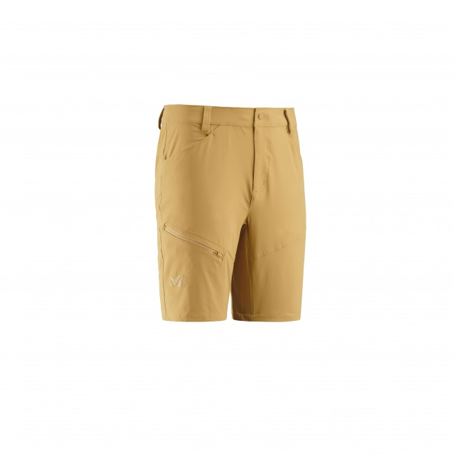 Men's short - hiking - yellow TREKKER STRETCH SHORT II Millet