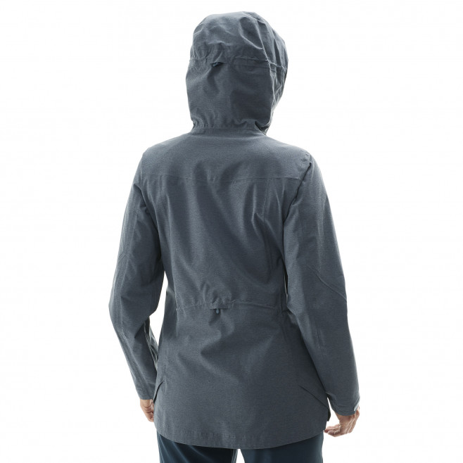 Women's waterproof jacket - navy-blue LD ABAYA STRETCH JKT Millet 5