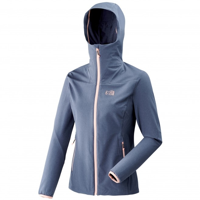 Women's softshell jacket - hiking - blue LD TAHOE STRETCH JKT Millet