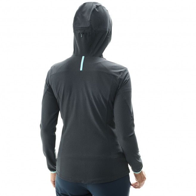 Women's softshell jacket - hiking - blue LD TAHOE STRETCH JKT Millet 3