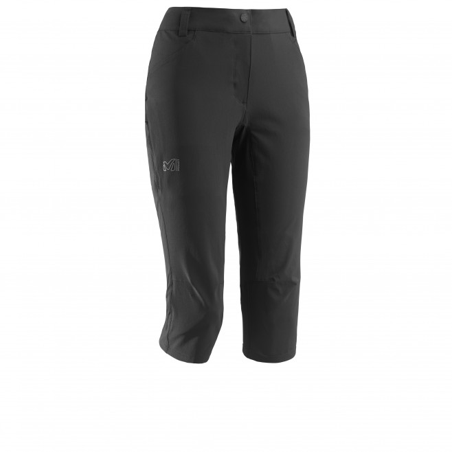 Women's pant - hiking - black LD TREKKER STRETCH 3/4 PANT II Millet