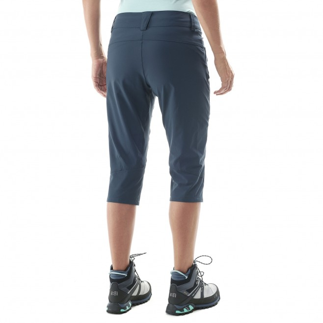 Women's pant - hiking - navy-blue LD TREKKER STRETCH 3/4 PANT II Millet 3