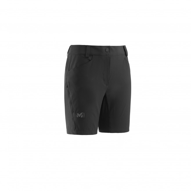 Women's short - black TREKKER STRETCH SHORT II W Millet