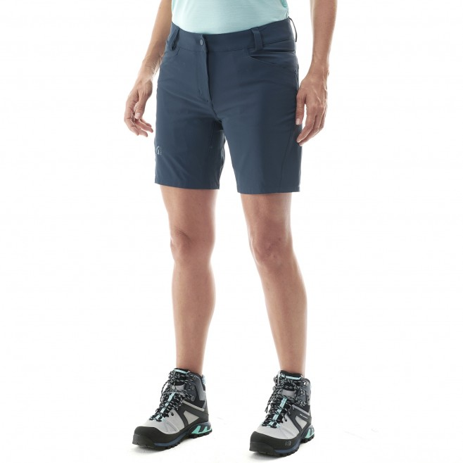 Women's short - black TREKKER STRETCH SHORT II W Millet 2
