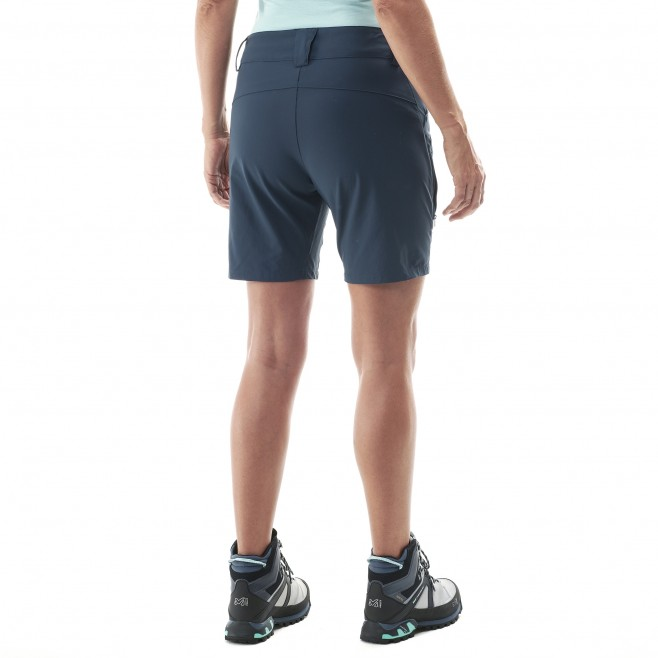 Women's short - black TREKKER STRETCH SHORT II W Millet 3