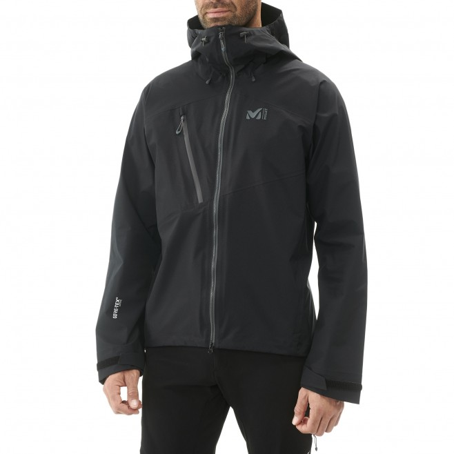 Men's gore-tex jacket - mountaineering - black ELEVATION ONE GTX ACTIVE JKT Millet 3