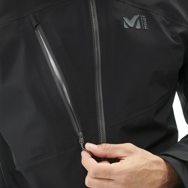 Men's gore-tex jacket - mountaineering - black ELEVATION ONE GTX ACTIVE JKT Millet 2
