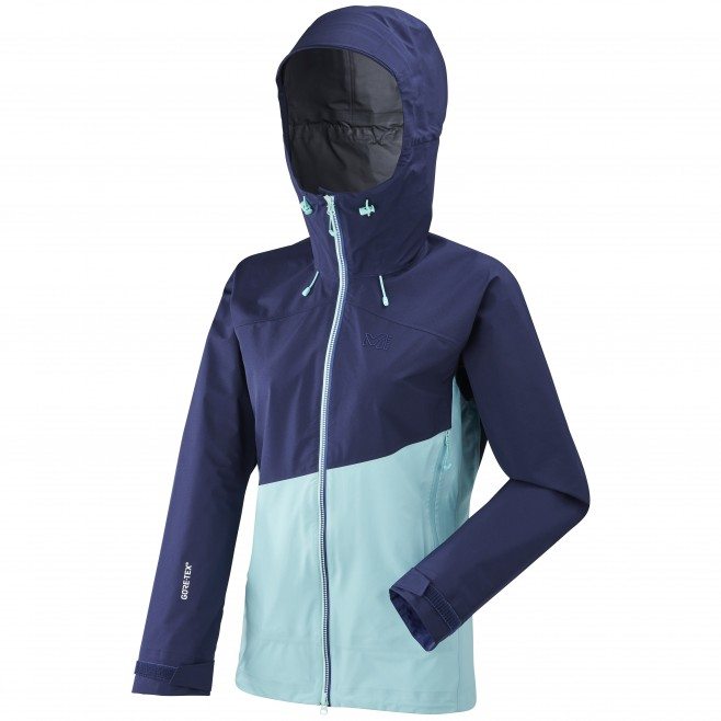 Women's gore-tex jacket - mountaineering - blue LD ELEVATION GTX ACTIVE JKT Millet