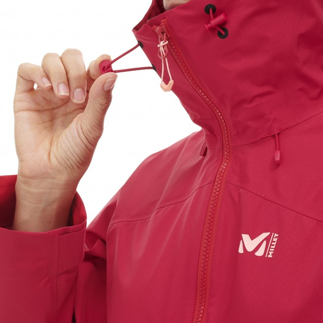Women's gore-tex jacket - mountaineering - blue LD ELEVATION GTX ACTIVE JKT Millet 8