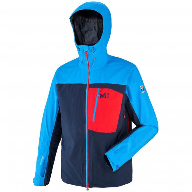 Men's gore-tex jacket - mountaineering - navy-blue TRILOGY CORE GTX PRO JKT Millet