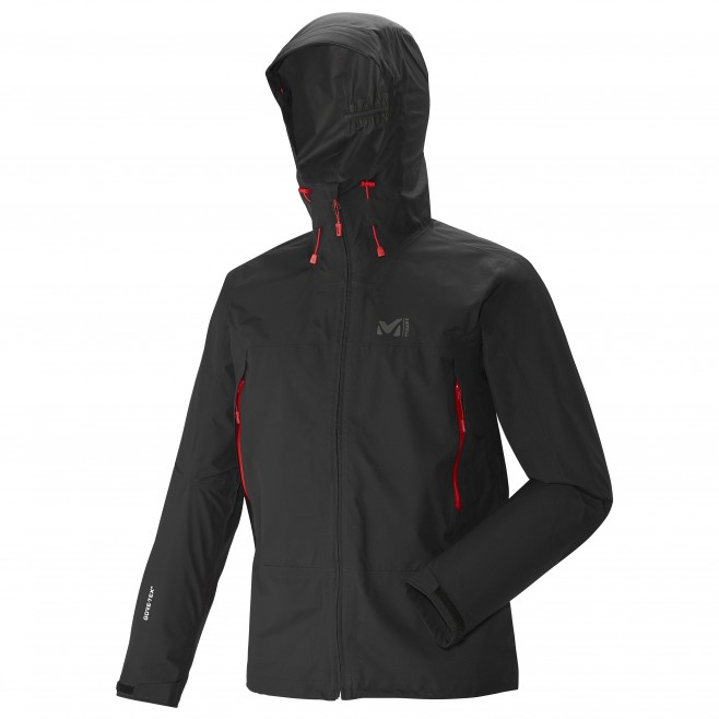 Men's gore-tex jacket - hiking - black GRAYS PEAK GTX JKT Millet