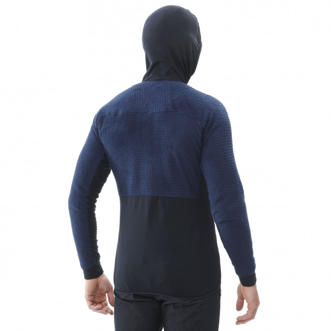 Men's fleecejacket - navy-blue TRILOGY EDGE ALPHA HOODIE M Millet 3